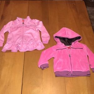 Puma Toddler Girls Jacket Bundle Size 24 Months